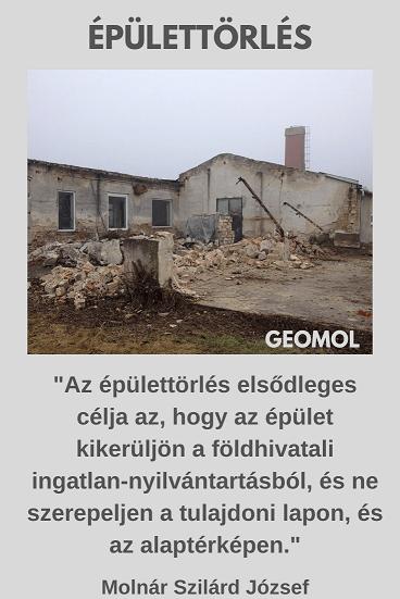 épülettörlés
